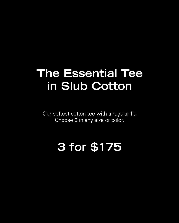 The Essential Tee in Slub Cotton Card