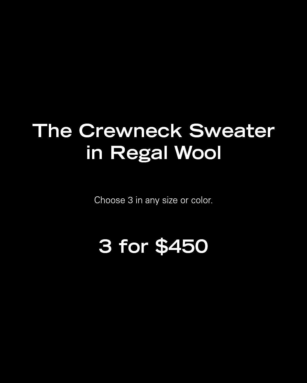 The Crewneck Sweater