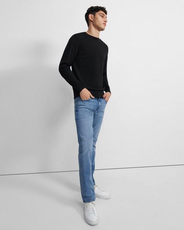띠어리 청바지 Theory J Brand Tyler Slim Fit Jean in Seriously Soft Denim,KEELAND