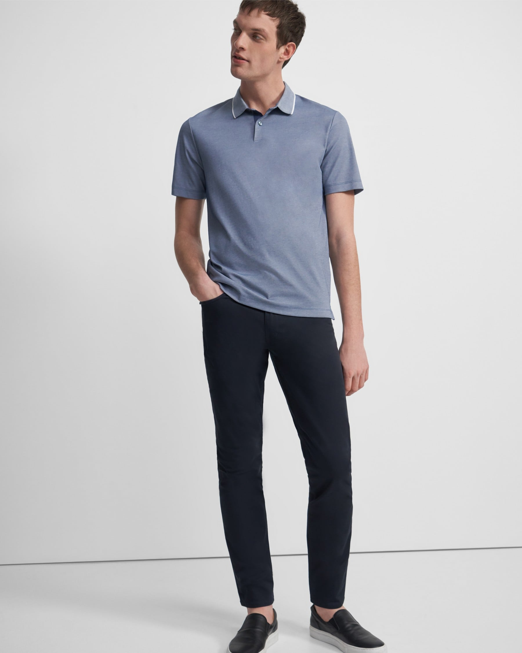 Theory Haydin 5-Pocket Pant in Stretch Cotton