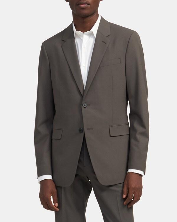 띠어리 맨 자켓 Theory Structured Jacket in Good Wool,OTTER