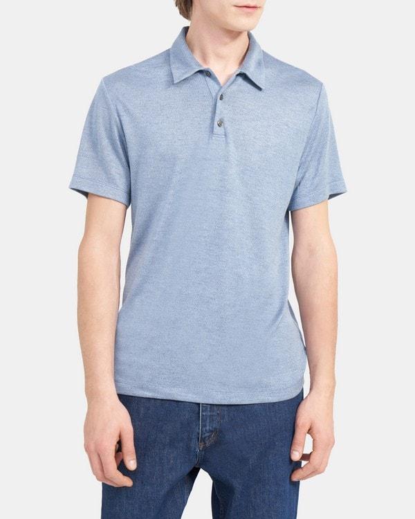 띠어리 Theory Polo Shirt in Modal Jersey,LAGOS MULTI