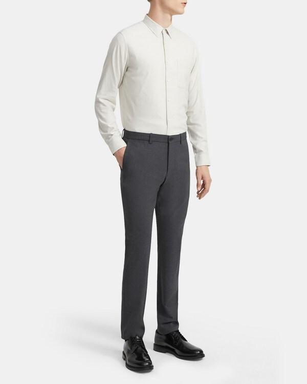 띠어리 Theory Standard-Fit Shirt in Cotton Sateen,VAPOR