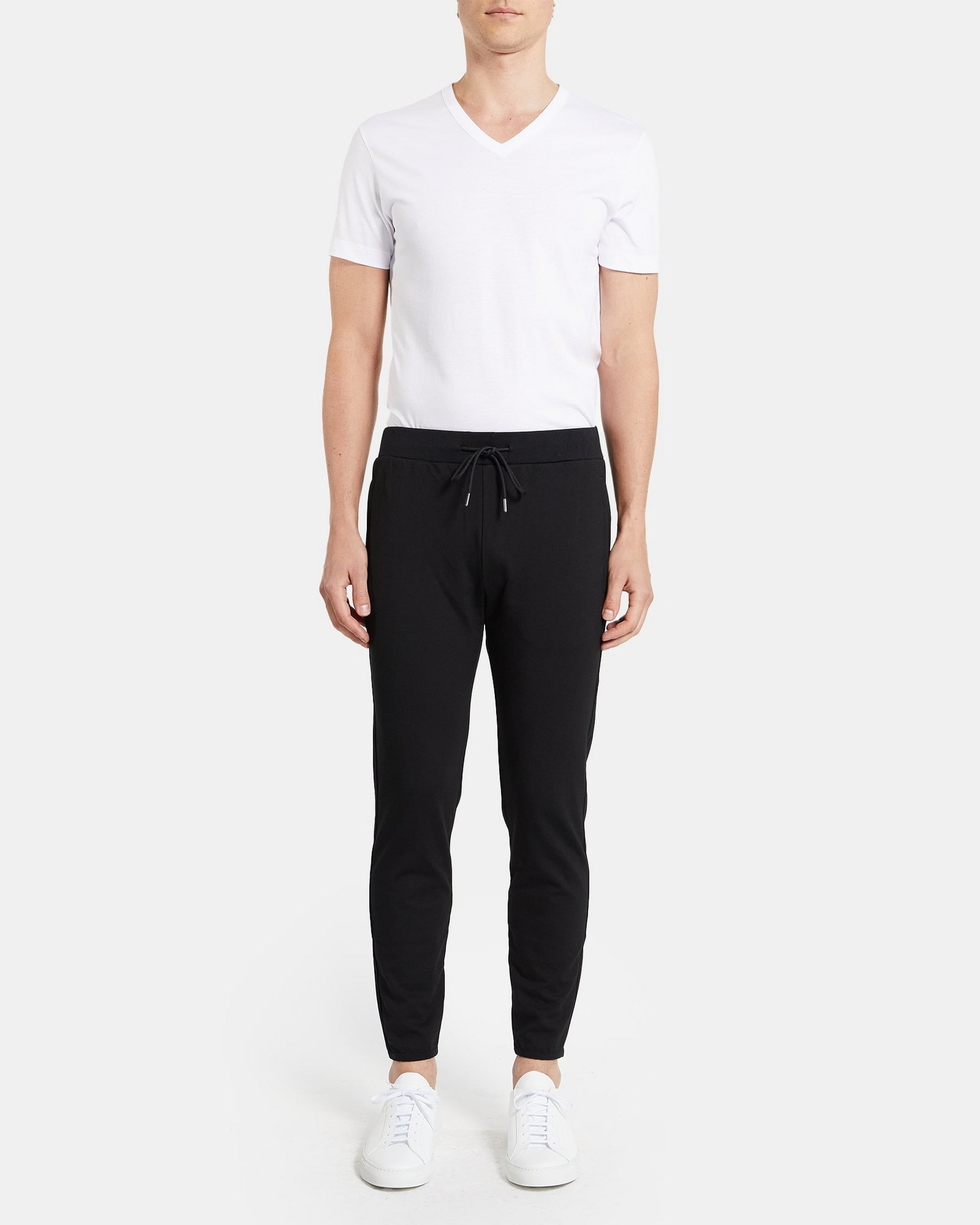 Theory Jogger Pant In Stretch Tech Knit