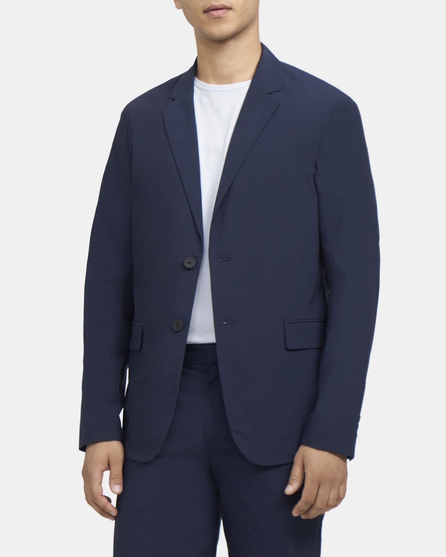 띠어리 Theory Tech Relaxed-Fit Jacket,DARK NAVY