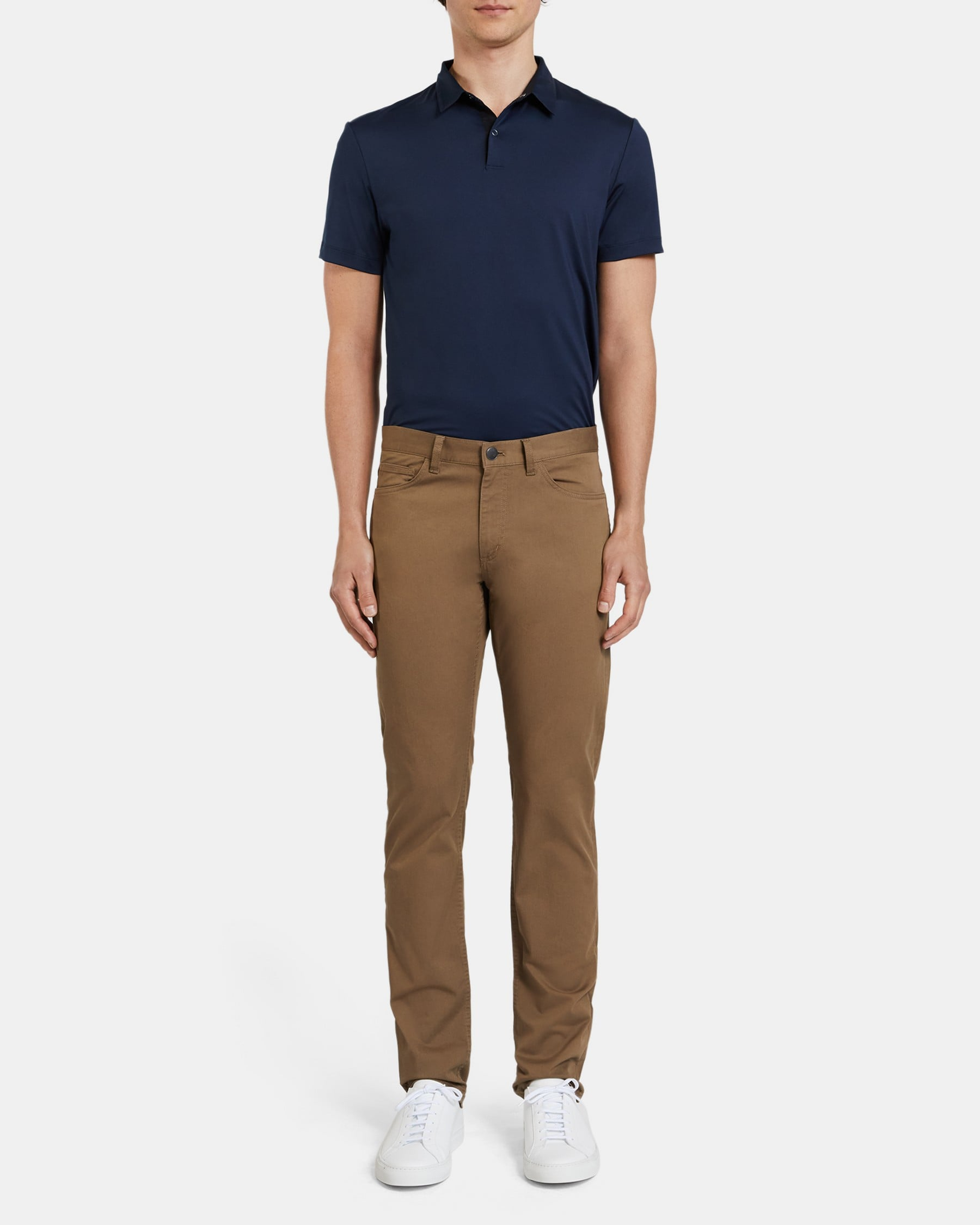 Theory Five-Pocket Pant In Stretch Cotton