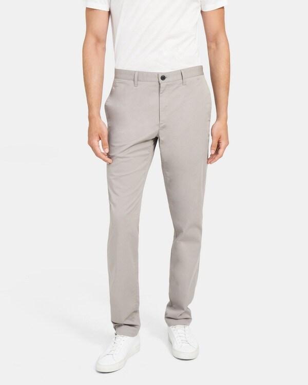 띠어리 맨 클래식 핏 팬츠, 스트레치 코튼 트윌 Theory Classic-Fit Pant in Stretch Cotton Twill,SMOKE