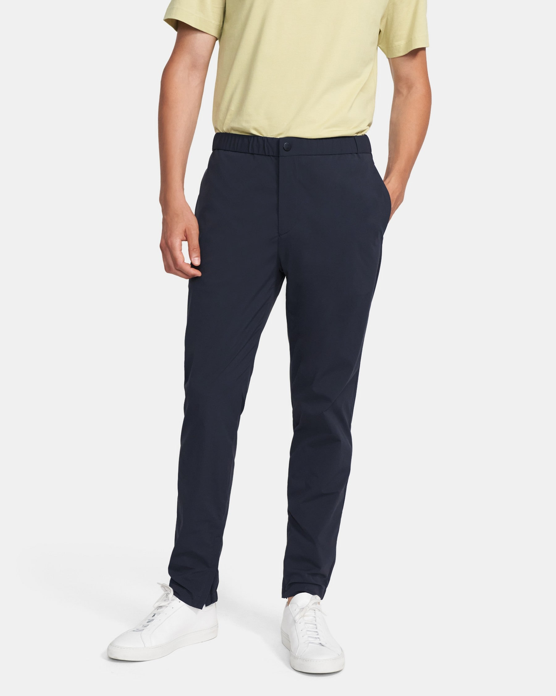 Theory Terrance Pant in Stretch Nylon