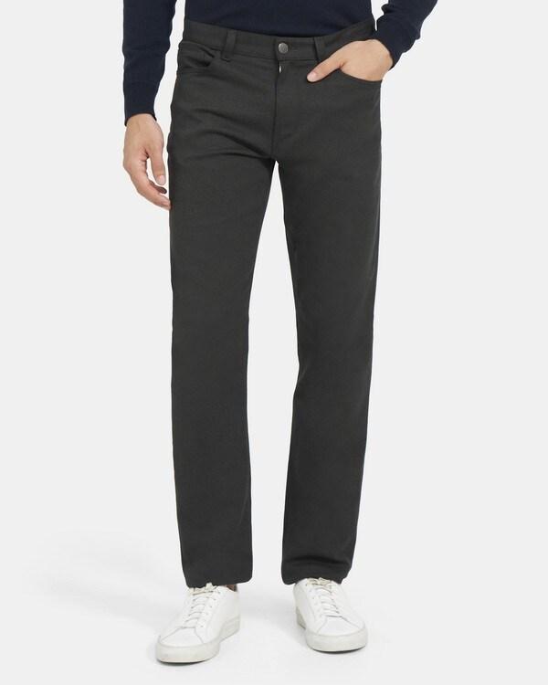 띠어리 맨 파이브 포켓 팬츠 Theory Five-Pocket Pant in Stretch Cotton Twill,HUNTER MULTI