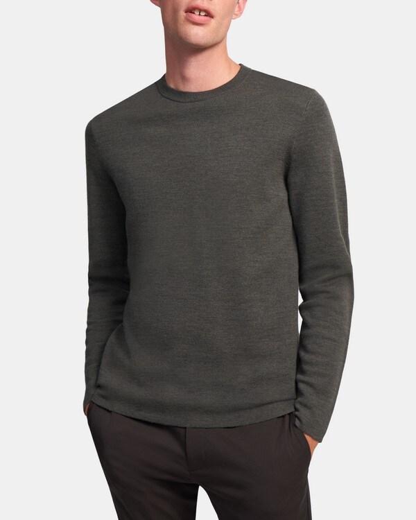띠어리 Theory Crewneck Sweater in Merino Wool,GROVE MULTI