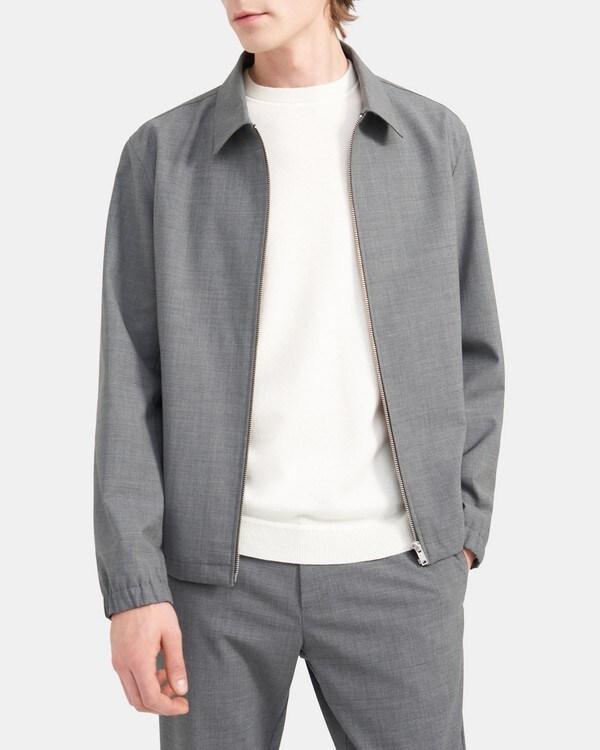 띠어리 Theory Jacket in Stretch Wool,CHARCOAL