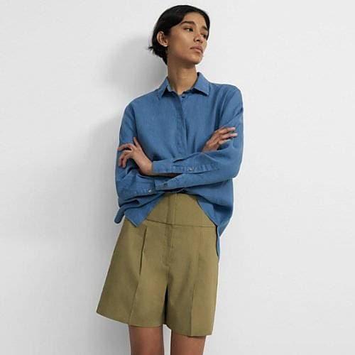 Women's Linen Tops